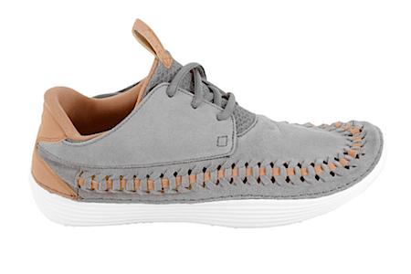 ナイキ ソーラーソフトモカシン・ウーヴン スポーツグレー(Nike Solarsoft Moccasin Woven sport grey)