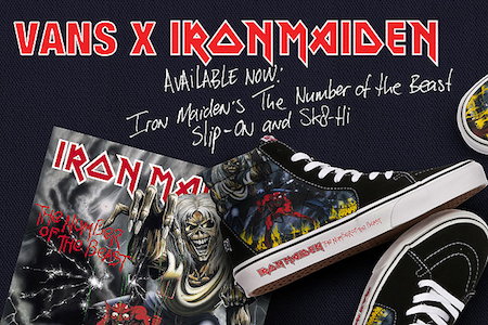 バンズ X アイアンメイデン ザ・ナンバー・オブ・ザ・ビースト 30th アニバーサリー(VANS X IRON MAIDEN NUMBER OF THE BEAST The 30th Anniversary)