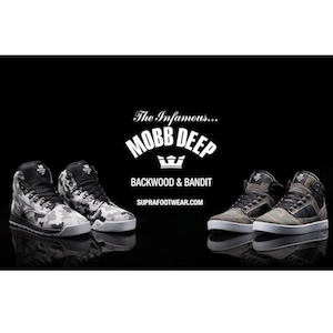Mobb Deep X SUPRA Backwood and Bandit by Prodigy