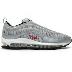 Nike Air Max 97 Premium Metallic Silver/Versity Red
