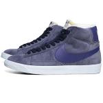 ナイキ・ブレーザー・ミッド スエード・ビンテージ オブシディアン & ディープ・ロイヤル・ブルー(Nike Blazer Mid Suede VNTG Obsidian & Deep Royal Blue)
