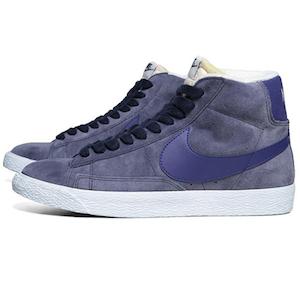 Nike Blazer Mid Suede VNTG Obsidian & Deep Royal Blue