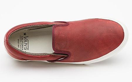 """バンズ・カリフォルニア・スリッポン """"チューダー・レザー"""" パック(Vans California Slip-On """"Tudor Leather"""" Pack)"""