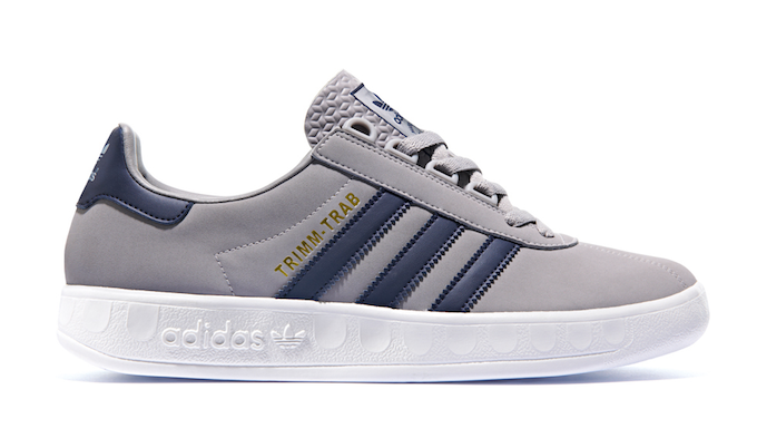 adidas Trimm-Trab (The aluminium/new navy/white)