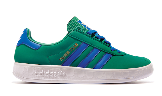 adidas Trimm-Trab (green/satellite blue/white)