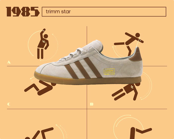 "adidas Originals Trimm Star ""Brown/Cream"" size? Exclusive (2014)"
