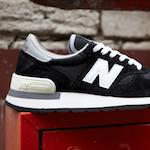 """ニューバランス 990 """"メイド・イン USA"""" ブラック(New Balance 990 """"Made in USA"""" Black)"""