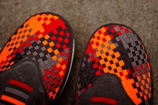 ナイキ・ソーラーソフト・ラーチ・ウーブン・プレミアム・グレー(Nike Solarsoft Rache Woven Premium Grey)