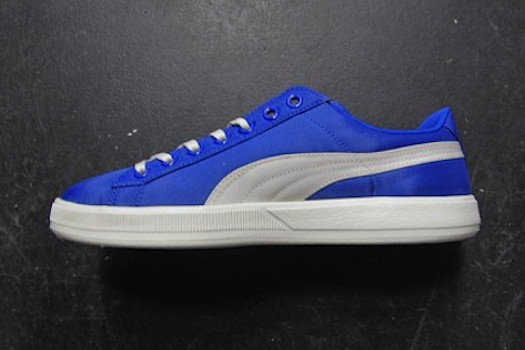 プーマ・アーカイブ・ライト・ロー・シュノーケル・ブルー/ウィスパー・ホワイト(Puma Archive Lite Low Nylon Rt Snorkel blue whisper white)