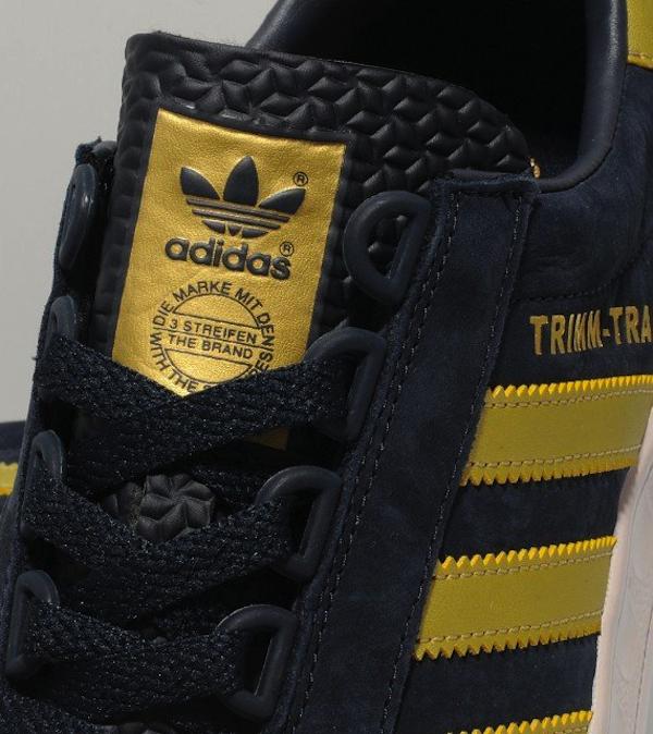 adidas Originals Trimm-Trab Legend Ink / Metallic Gold