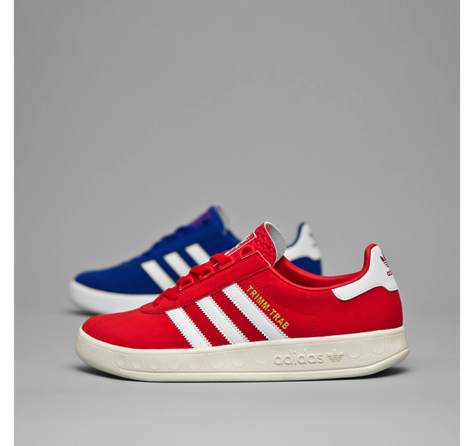 adidas Originals Trimm-Trab 'Red and Blue' size? UK exclusive