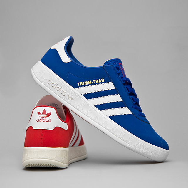 adidas Originals Trimm-Trab 'Red and Blue' size? UK exclusive (2013)