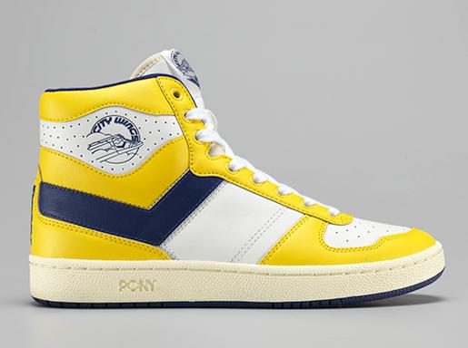 Pony city wings yellow/navy