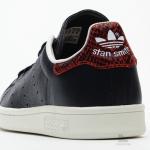 「黒の象革/赤の蛇革」スタンスミス [adidas Stan Smith Elephant Leather] 登場