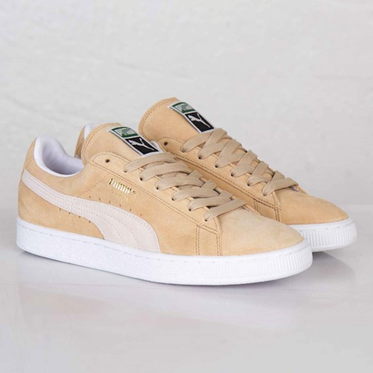 Puma Suede Classic+ Curds & Whey-White