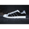 ブラックキャンバス + ホワイトレザー + グレースエード、ジグザグステッチのスタンスミス [Y's by Yohji Yamamoto X adidas Originals Stan Smith]登場