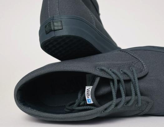 バンズ・カリフォルニア・チャッカブーツ・ダークブルー(Vans CA Chukka Boot Dark Blue)