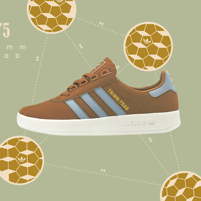 adidas Originals Trimm-Trab Tonal Brown size? UK Exclusive