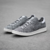 靴下感覚、杢グレーのスタンスミス、プライムニット新色 [adidas Stan Smith Primeknit Solid Grey] 登場