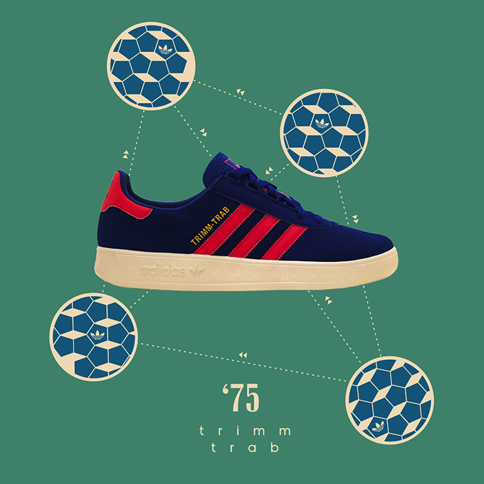 adidas Originals Trimm-Trab size? UK exclusive (2013)