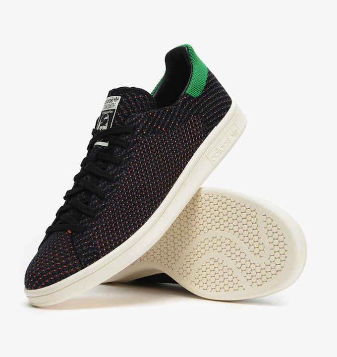 adidas Stan Smith Primeknit Core Black-Green