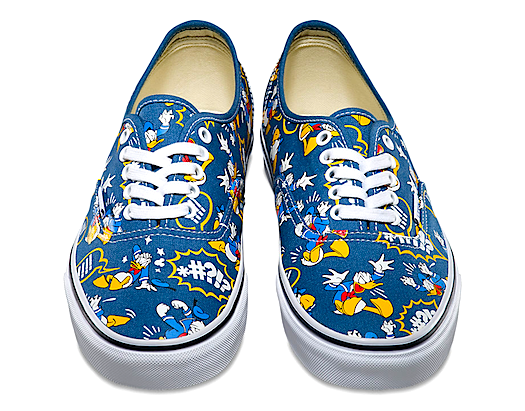 Disney Vans Authentic Donald Duck