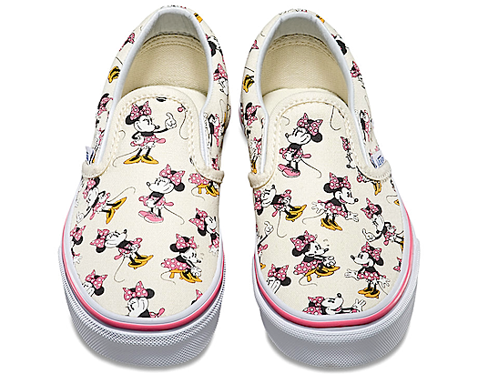 Disney Vans Slip-On Minnie Mouse