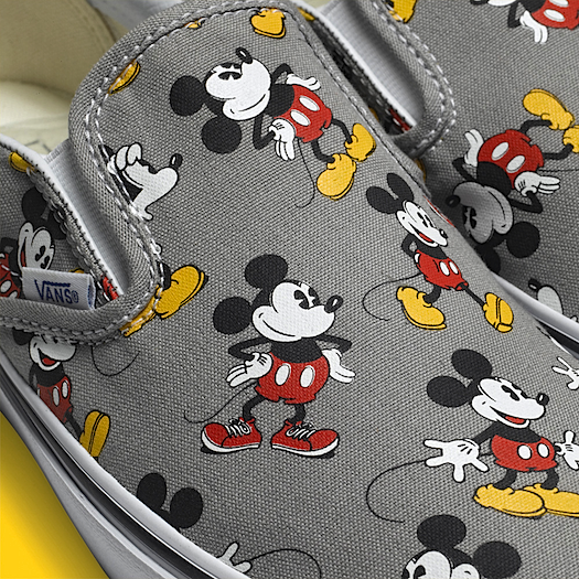 Disney Vans Slip-On Mickey Mouse