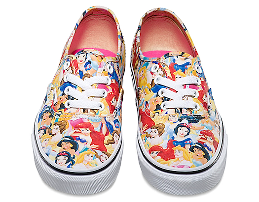Disney Vans Authentic Multi Princess
