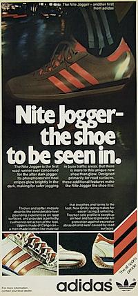 adidas Nite Jogger ad 1970s