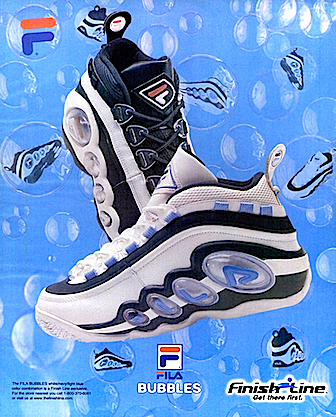 Finish Line x FILA Bubbles