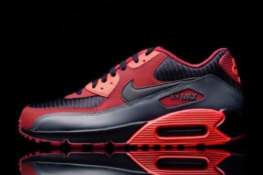 Nike Air Max 90 Essential Team Red Black