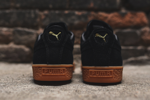 Puma Suede Winter Steel Grey/Gum, Black/Gum