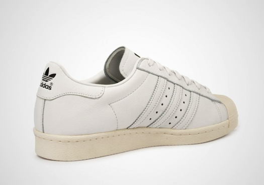 adidas Superstar 80s DLX white/white