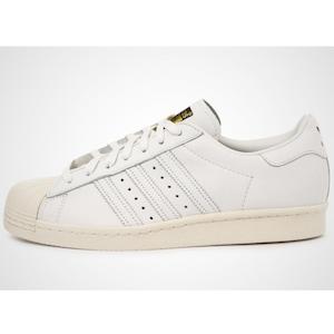 adidas Superstar 80s DLX white/white