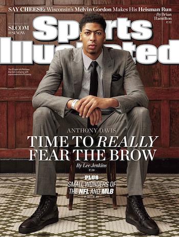 Anthony Davis Sports Illustrated