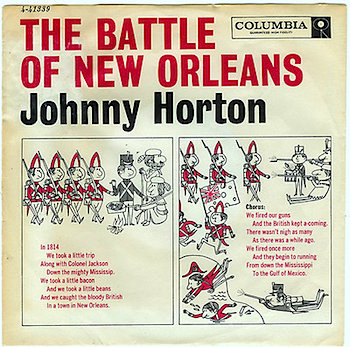 JOHNNY HORTON -THE BATTLE OF NEW ORLEANS