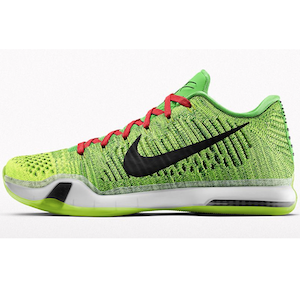 Kobe X Elite Low iD Grinch