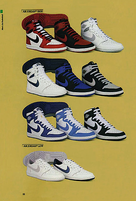 Nike Basketball Catalog 1985