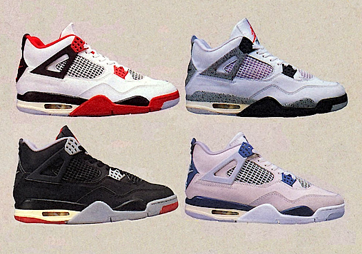 Nike Air Jordan 4 Retro Alternate 89