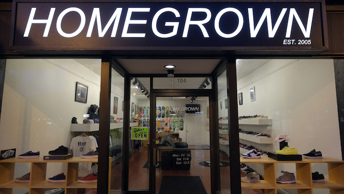 Homegrown Skateshop