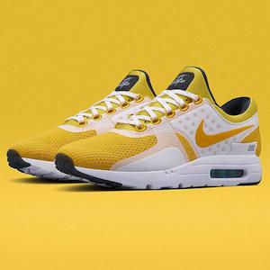 Nike Air Max Zero White Yellow