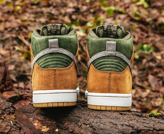 Nike SB Dunk High Premium Homegrown