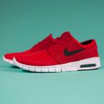 """ナイキ SB ステファン・ジャノスキ・マックス """"ユニバーシティ・レッド""""(Nike SB Stefan Janoski Max """"University Red"""")"""