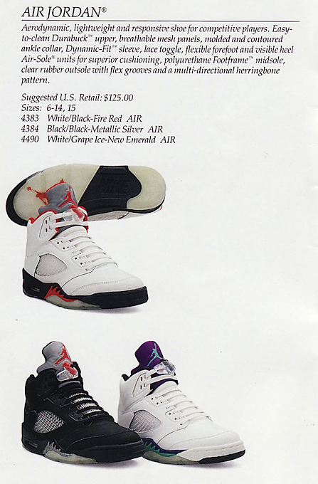 Nike Basketball Catalog From 1990