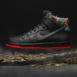 """ナイキ SB ダンク・ハイ・プロ """"スポット""""(Nike SB Dunk High Pro """"Spot"""")"""