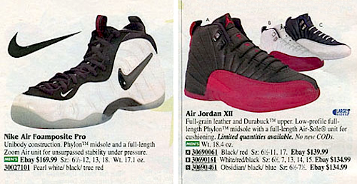 Nike catalogue 1988