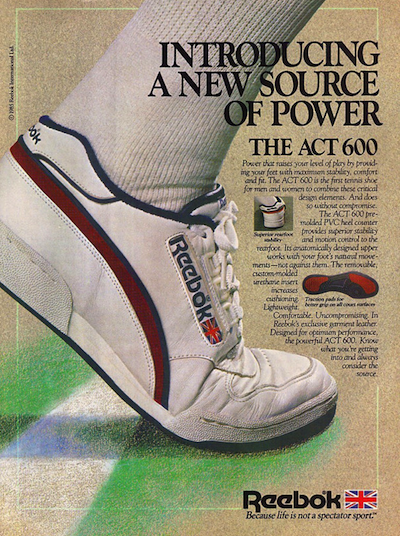 Reebok ACT 600 1985