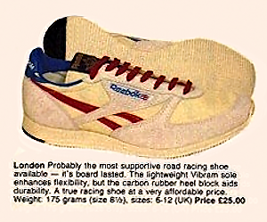 Reebok London 1986