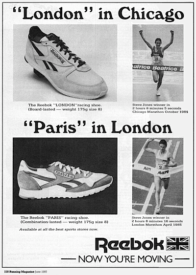 Reebok London and Paris